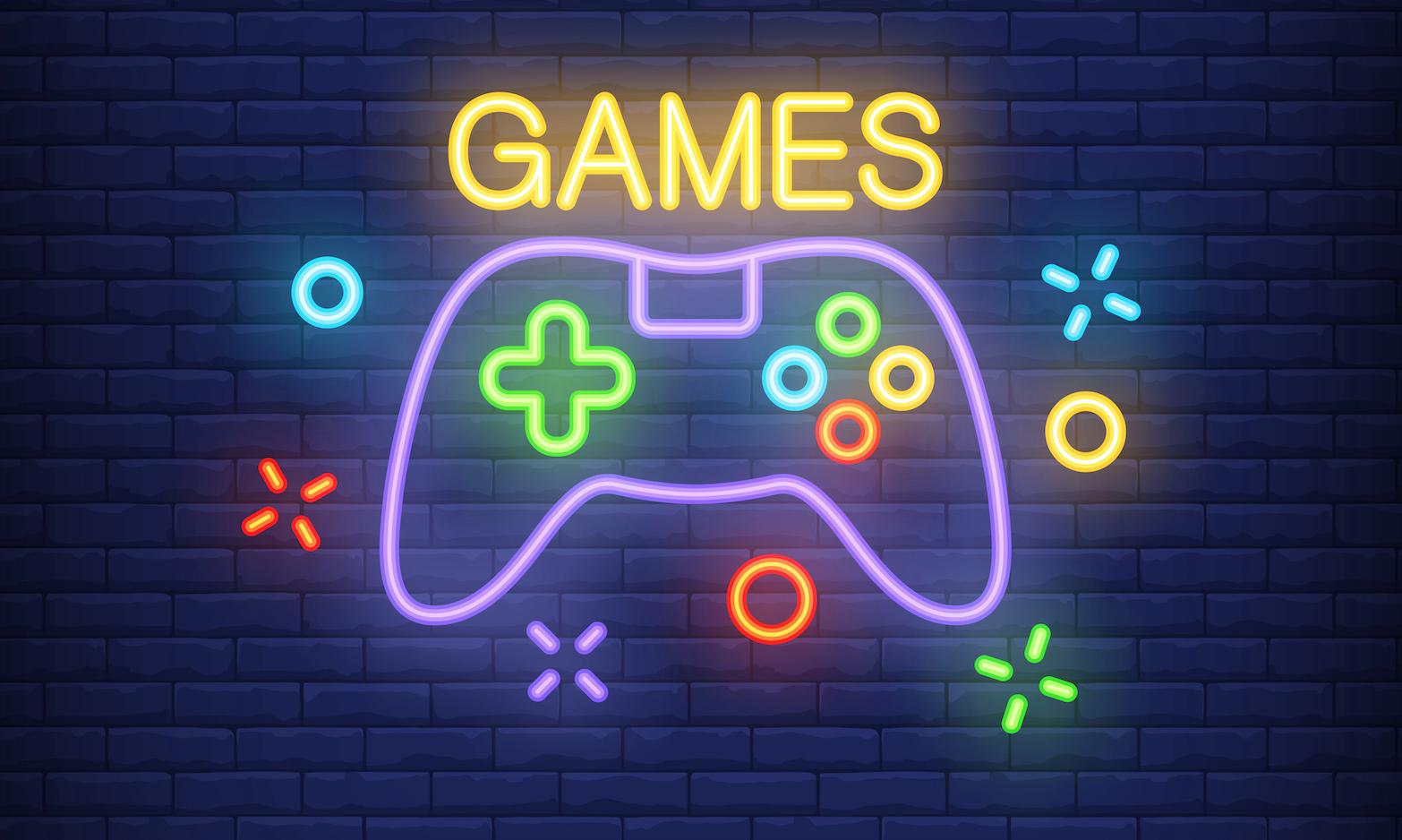 Картинка с надписью игры